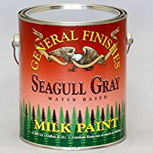 General Finishes Water Based Milk Paint Seagull Grey Gallon by General Finishes
