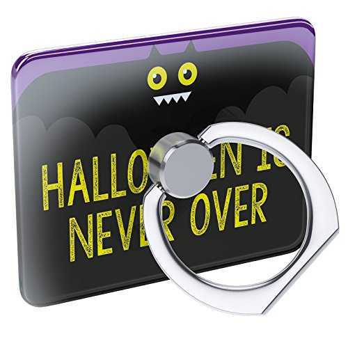 Cell Phone Ring Holder Halloween is Never Over Halloween Funny Bat Collapsible Grip & Stand -