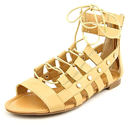 Bar III Womens Reese Open Toe Casual Gladiator Sandals, Croissant, Size 8.5 S05k