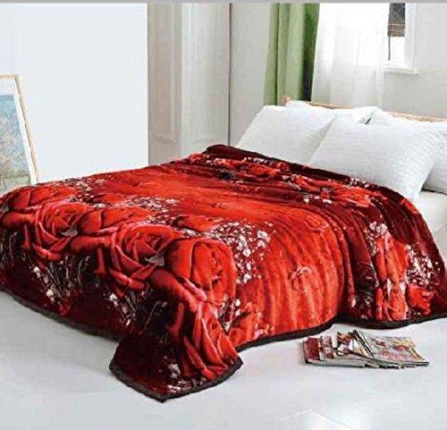 Original Solaron Korean Blanket Throw Mink Silky King Size