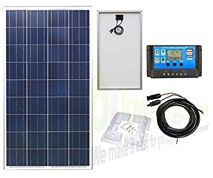 20W Mono Solar Panel Battery Charging Kit with Charger Controller & Mounting Bracket Set. For Caravans, Motorhomes, Boats & Any Flat Surface … K2 Boats & Any Flat Surface ... K2 Lowenergie