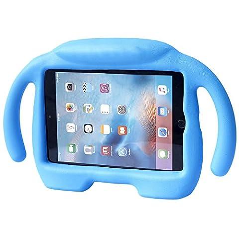 iPad Mini Case, iPad Mini 1 / 2 / 3 / 4 Case, Ubearkk Kids Shock Proof Freestanding Light Weight Super Protective Handle Stand Cover Case for Apple iPad Mini / Mini 2 / Mini 3 / Mini 4 (Elsa Ipad Air Case)