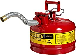 Justrite 7225130 AccuFlow 2.5 Gallon, 11.75\