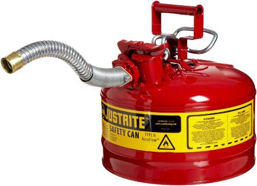 Justrite 7225130 AccuFlow 2.5 Gallon, 11.75