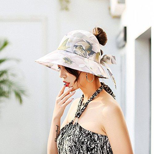 ... Al Aire Libre Vacian El Sombrero Ancho del Sombrero De ala Ancha De La Playa Que Pesca El Sombrero del Cubo para Los Accesorios del Día De Fiesta del ...