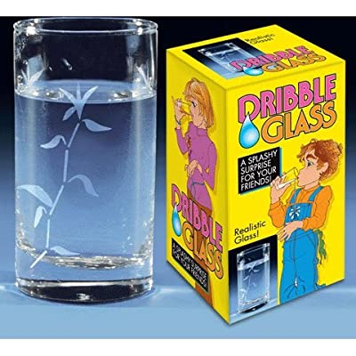 Classic Dribble Glass Practical Joke: Toys & Games