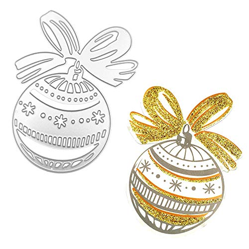 Christmas Gift Ball Metal Cutting Dies Colorful Scrapbooking Card Making Stamps and Dies Christmas Die - Die Cut Cards Christmas