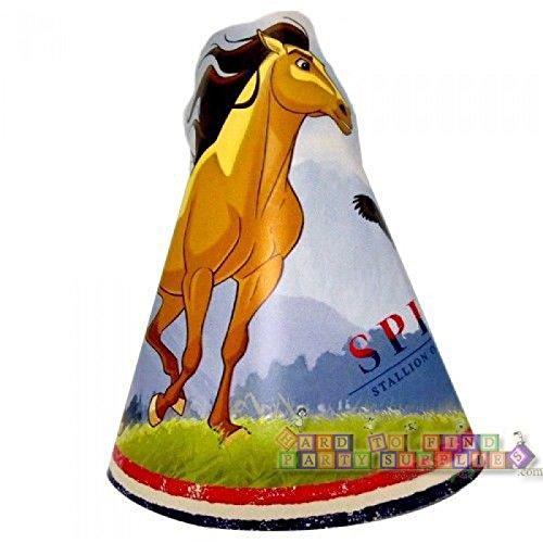 Spirit Stallion of the Cimarron Vintage Cone Hats (8ct)