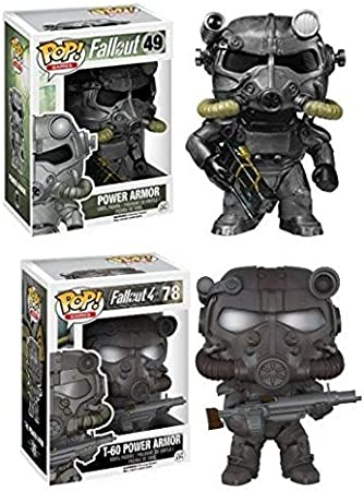 Funko POP! Fallout: Power Armor + T-60 Armor - Video Game Vinyl ...