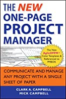 The New One-Page Project Manager, 2nd Edition Front Cover