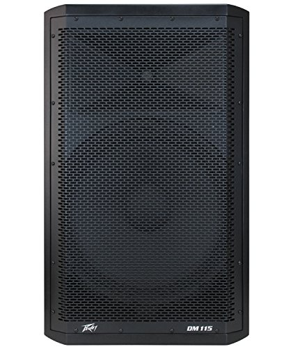 Bass Crossovers Peavey - Peavey Dark Matter Powered bi-amplified analog amp powered PA Speaker Cabinet