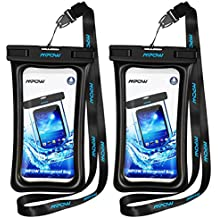 Mpow Floating Waterproof Case, IPX8 Waterproof iPhone Case Underwater New Type TPU Dry Bag for iPhone 8/8plus/7/7plus/6s/6/6s plus Samsung galaxy s8/s7 LG V20 Google Pixel HTC10 (2-Pack)