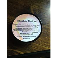 INDIAN MUD BLOODROOT - Bloodroot, Red Clay, Goldenseal- Indian Mud
