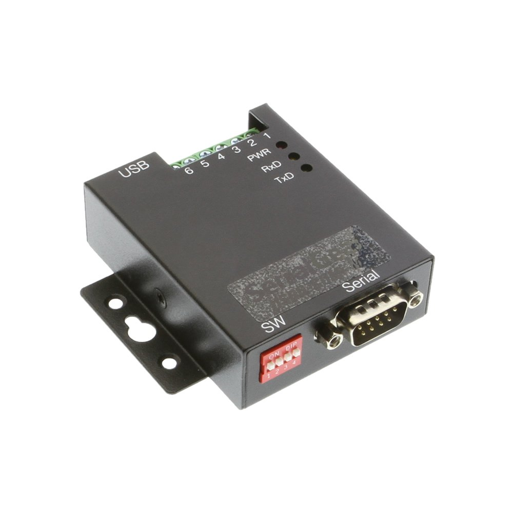 SerialGear® Single Port USB to RS-232 Selectable RS-422 or RS-485 Industrial Adapter