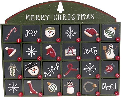 Green Wooden Door (Green Wooden Advent Calendar with Doors from Primitives by Kathy )