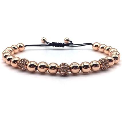 regard détaillé 513f8 86173 Jubuk Bracelets Homme Or Couronne Bracelet Femmes 2019 Mode ...