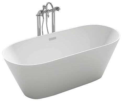 Vasca Da Bagno Tradizionale : Taviani vasca da bagno tradizionale ellittica 160x80cm galaxy bianco