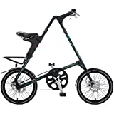 STRiDA EVO folding bicycle, unqiue design, folds to 45x20x9, 16 inch wheels, Unisex