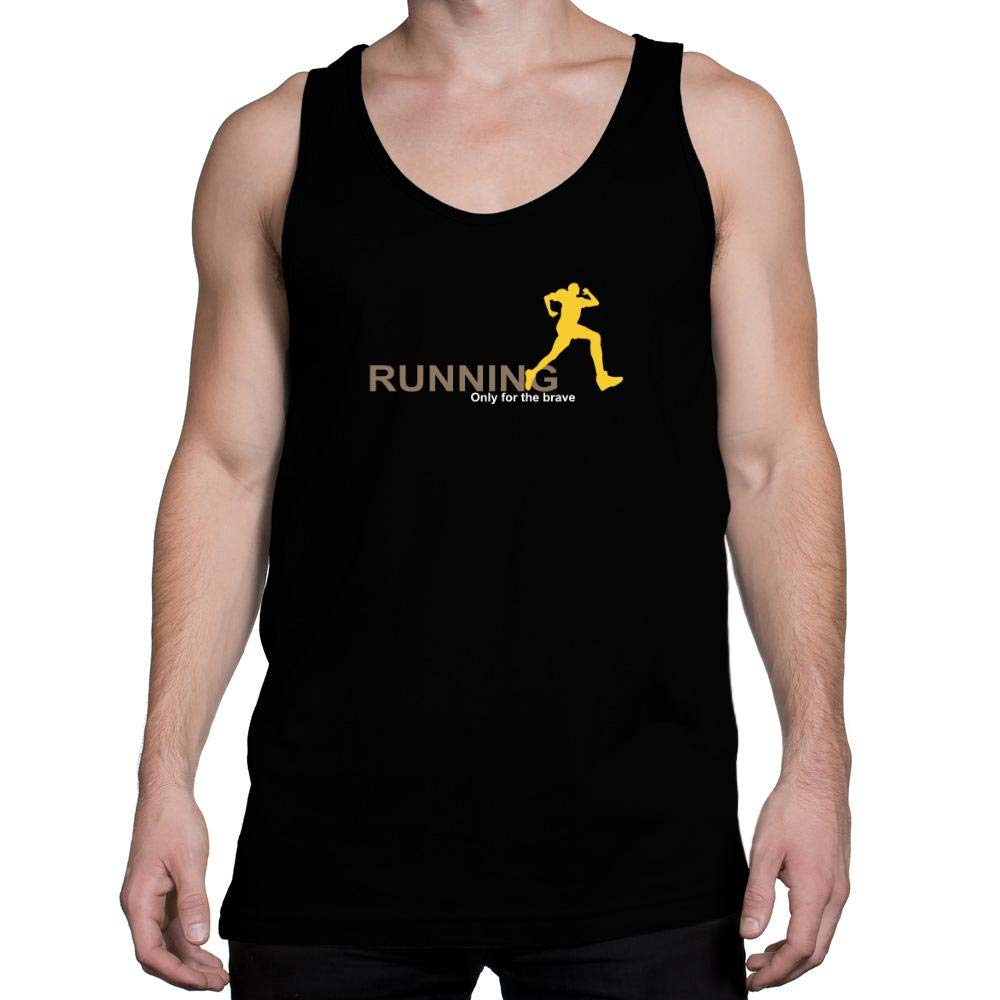 Idakoos Running Only for The Brave Tank Top