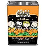 PEANUTS Orange Halloween Hot Chocolate - Colorful Great Pumpkin Patch Cocoa