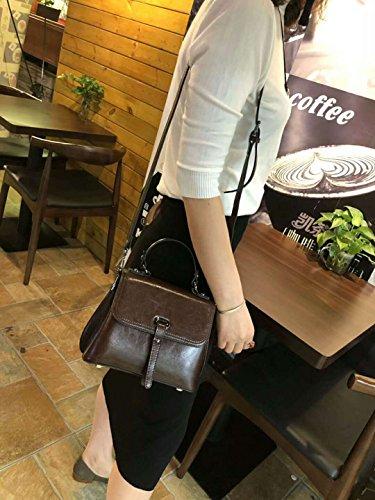 Personalidad De GUANGMING77 Terraplén Café Coffee Hombro Messenger Bolso ZqwFvR