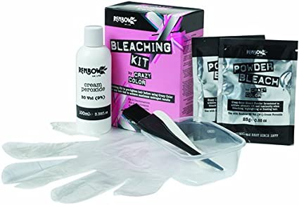 Renbow Crazy Color - Kit decolorante para el cabello, para antes de cualquier tinte