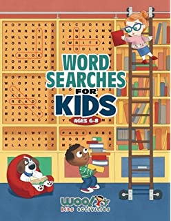 word search for kids ages 6 8 reproducible worksheets for classroom homeschool use - Kids Activities Book