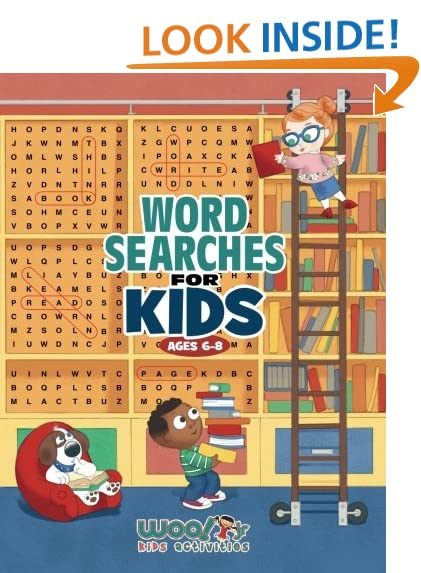Kids Word Searches: Amazon.com