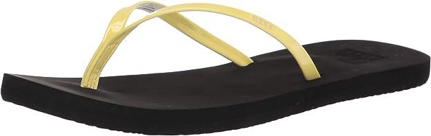 Reef Bliss Black White RF01010BLW Women/'s Flip Flop Sandal