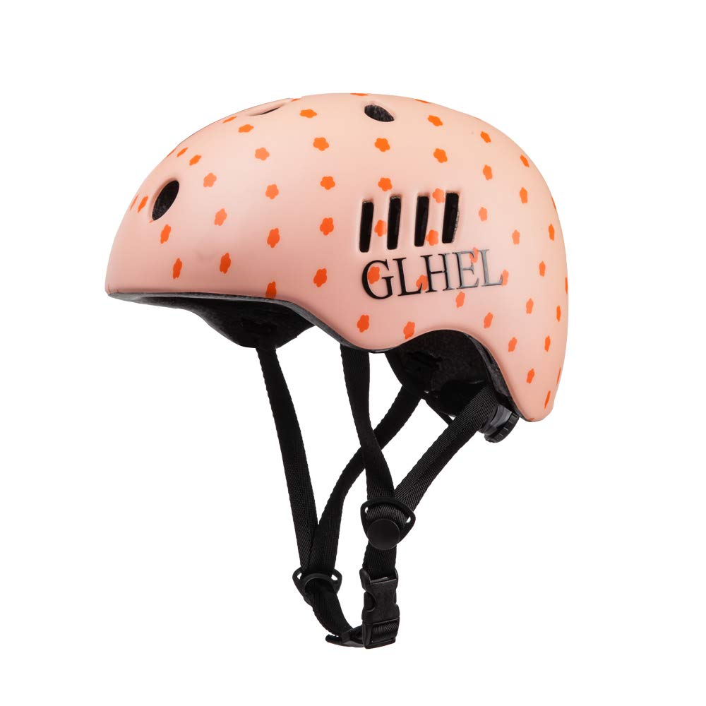 GLHEL Skateboard Helmet Impact Resistance Safe Helmet Multi Sport for Bike Skates Skateboards /& Scooter Certified CPSC Adult/&Kids Adjustable Dial Helmet with Multiple Colors/&Sizes