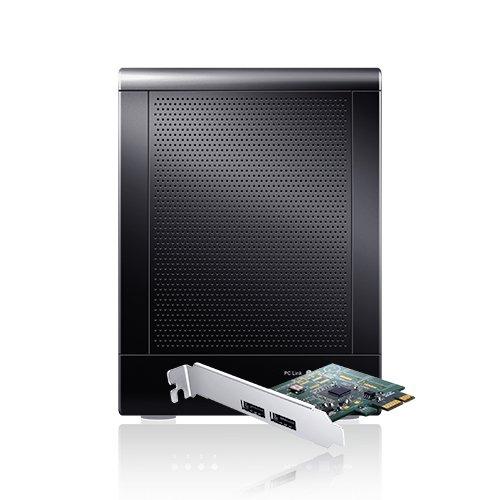 Sans Digital TowerRAID TR4UT-BP 4-Bay 3.5-Inch USB3.0 eSATA External Hard Drive RAID Enclosure with 6G PCIe 2.0 HBA