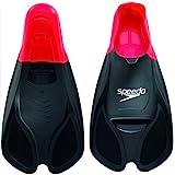 Speedo Biofuse Training Fin, Red/Black, Size 9-10