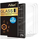 Ailun Screen Protector Compatible with iPod Touch 6 iPod Touch 5 [3 Pack],2.5d Curved Edge, Tempered Glass for iPod Touch 6th 5th Generation,Scratch-Proof,Case Friendly,Siania Retail Package