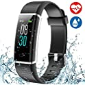 Aneken Fitness Tracker Heart Rate Monitor Watch