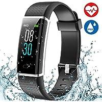 Aneken Fitness Tracker Heart Rate Monitor Watch Activity...