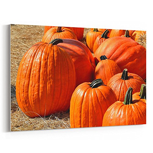Westlake Art - Pumpkin Winter - 5x7 Canvas