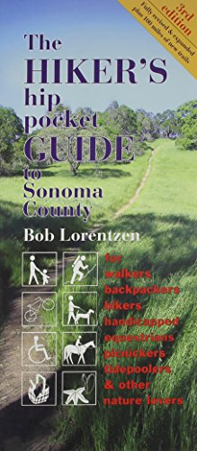 Hiker's hip pocket Guide to Sonoma County, 3rd edition