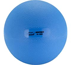 Gymnic Heavymed 500 Medicine Ball, Green (10 cm, 500 gm / 1.1 lbs ...