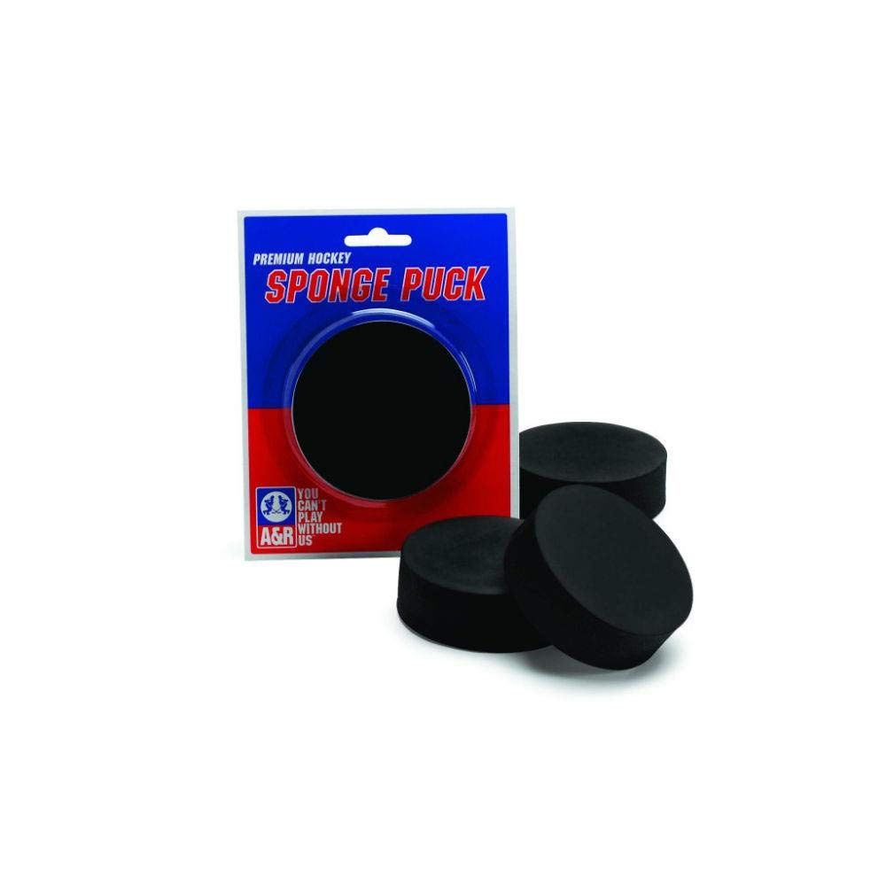 A /& R Sports Sponge Hockey Puck