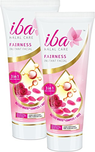 Iba Halal Care Fairness Instant Facial, 100g (Pack of 2)
