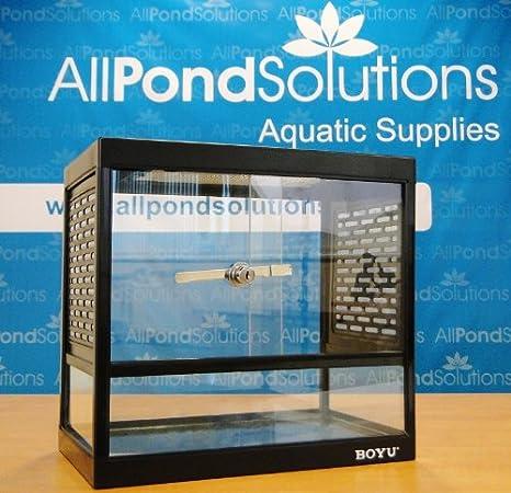 Pecera de vidrio, vivario terrario para reptiles.: Amazon.es: Productos para mascotas