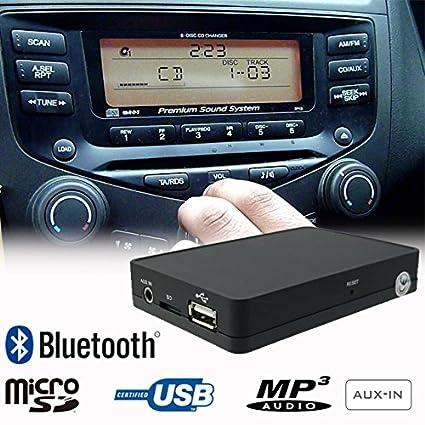 Amazoncom Stereo Bluetooth Handsfree A2dp Usb Sd Aux Mp3 Wma Cd