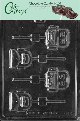 Cybrtrayd K105 Backpack Lolly Kids Chocolate Candy Mold