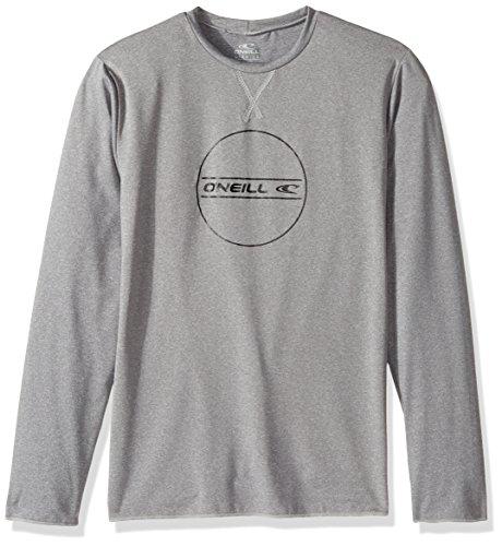 - O'Neill Youth Hybrid UPF 50+ Long Sleeve Sun Shirt,Cool Grey,14
