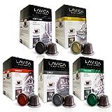 Nespresso Compatible Capsules   50 Capsules Espresso Variety Pack   Fits Nespresso Machines   Delicious Alternative to Nespresso Coffee Capsules