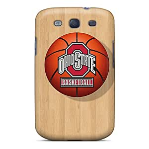 High Quality Hard Cell-phone Cases For Samsung Galaxy S3 (sKu3701UxZS) Customized Lifelike Ohio State Image