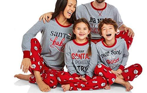 Padre Xmas Pijamas Nightwear Mom3 Keephen De Hijo E wn4OE7x