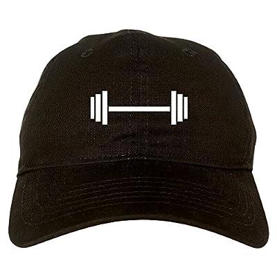 Barbell Workout Gym Dad Hat Baseball Cap
