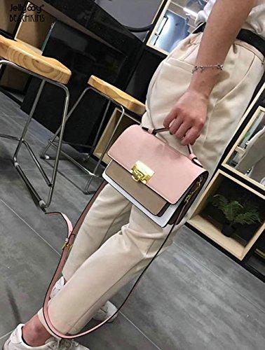 Nuova Del Viaggio Vera 2018 Borsa Moda Signora Pelle In Della Partito Spalla Estate Di Rosa rZrwPqf6x
