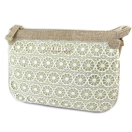 Lollipops'de Bag 'pizzo 'french Cm Scomparti 22x15x5 Touch' 3 Beige pnW1OCOB